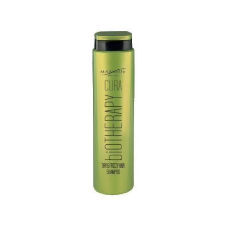 MAXXelle CURA BIOTHERAPHY Dry & Frizzy Shampoo - მშრალი და ხვეული თმის შამპუნი